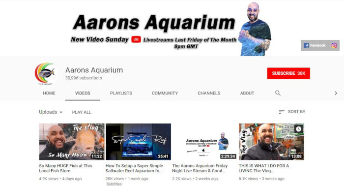 Aarons Aquarium by Aaron