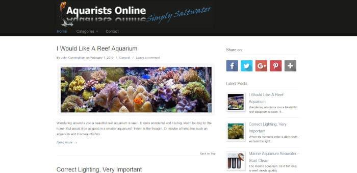 Aquarists Online