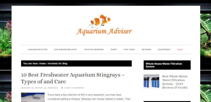 Aquarium Adviser