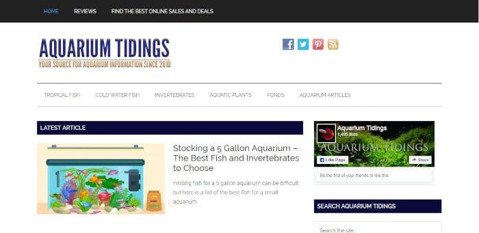 Aquarium Tidings