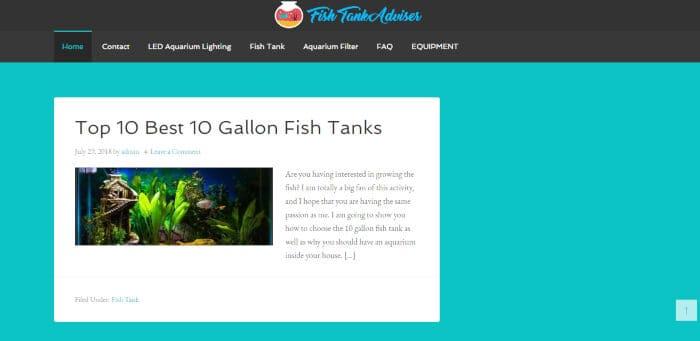 Fish Tank Adviser