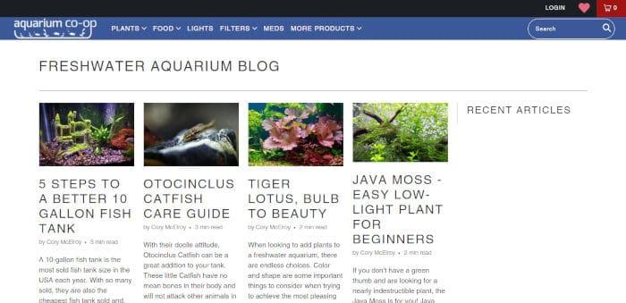 Freshwater Aquarium Blog