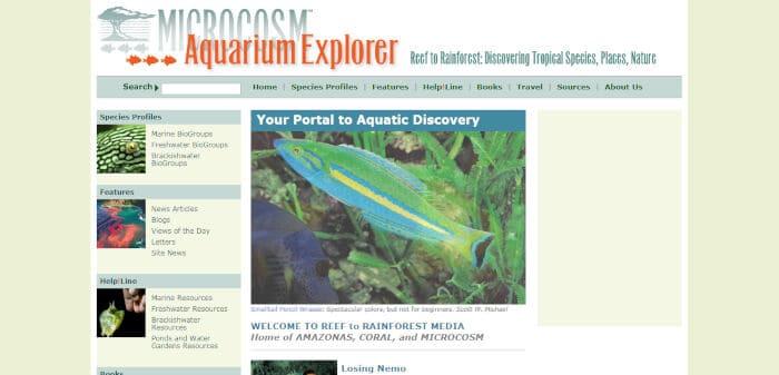 Microcosm Aquarium Explorer